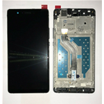 VETRO DISPLAY LCD TOUCH SCREEN + FRAME PER HUAWEI ASCEND P9 LITE NERO VNS-L31