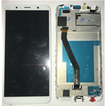 TOUCH SCREEN VETRO LCD DISPLAY + FRAME Per Huawei Y6 2018 ATU-L11 ATUL21 BIANCO