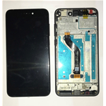 DISPLAY LCD + TOUCH SCREEN SCHERMO + FRAME HUAWEI ASCEND P8 LITE 2017 NERO