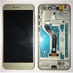 DISPLAY LCD + TOUCH SCREEN SCHERMO + FRAME PER HUAWEI ASCEND P8 LITE 2017 GOLD