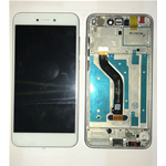 VETRO DISPLAY LCD TOUCH SCREEN + FRAME PER HUAWEI ASCEND P8 LITE 2017 BIANCO