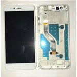 VETRO DISPLAY LCD TOUCH SCREEN + FRAME PER HUAWEI P10 LITE BIANCO WAS-LX1A