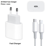 CARICABATTERIA COMPATIBILE PER Apple IPHONE 12 PRO MINI MAX Rapido 20W FAST CHARGER TYPE C